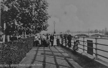 Postcard of Fulham Park