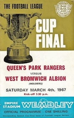 Copy of the 1967 Cup Final programme